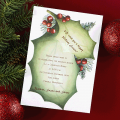 Holly-day Celebration Greeting Cards