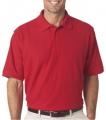 Men's Platinum Honeycomb Pique Polo Shirt