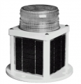 Solar-Powered Navigation Light