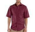 Short-Sleeve Canvas Tradesmen Shirt