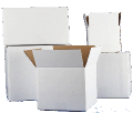 White Corrugated Cartons