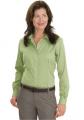 Ladies Nailhead Non-Iron Button-Down Shirt