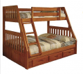 New Energy Honey Mission Bunk Twin Over Full