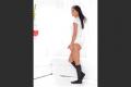10–15mmHg Women's Ribbed Trouser Socks