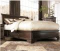 Leighton Storage Sleigh Bed