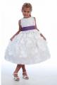 Girls Tea Length White Dresses