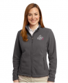 Breast Cancer Awareness Port Authority® Women's Soft Fleece Jacket