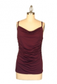 Ruched Cowl Neck Cami