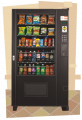 Visi-Combo Snack & Drink Machine