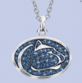 The Penn State Nittany Lions Crystal Pendant