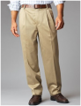 Dockers Big and Tall Signature Pleated Casual Pant