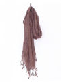 Cotton Brown Thai Scarves