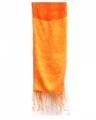Exotic Light Orange Thai Scarves