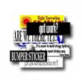 Standard Bumper Stickers