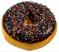 Chocolate with Sprinkles fake doughnut soft touch USA