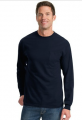Long Sleeve Essential T-Shirt with Pocke