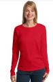 Ladies ComfortSoft® Long Sleeve T-Shirt