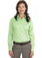 Ladies Long Sleeve Non-Iron Twill Shirt