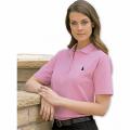 Ladies Short Sleeve Pique Polo