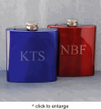 Personalized Metallic Flasks