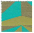 Optic Aquamarine Fabric