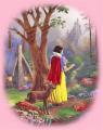 Snow White's Castle Fabric