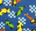 Race Cars Fabric