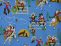 Alexander Henry Giddy Up Santa 6741/AR Fabric