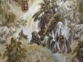 Larry Fanning Indian Portraits LF8045-8A Fabric