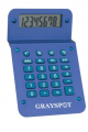 1608 Metallic Calculator