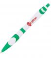 Scripto Groovy White Ballpoint Pen