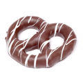 Pretzels - Chocolate Coated w/ White Drizzle