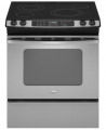 Self-Cleaning Slide-In Electric Range