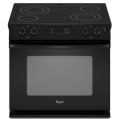 Self-Cleaning Drop-In Electric Range
