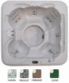 Coleman 6 Person Bench Spa (CO-R730B-03)