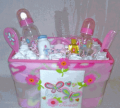 Sweet Baby Girl Gift Basket
