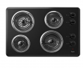 Electric Cooktop with Dishwasher-Safe Knobs