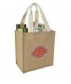Jute Grocery Tote Bag
