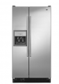 Side-By-Side Refrigerator with Store-N-Door Ice System
