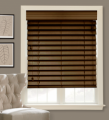 "2 1/2"" Natural Wood Blinds"