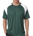 Adult Cool & Dry Sport Color Block Tee