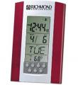 Atomic Digital Alarm Desk Wall Clock