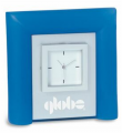 Frosted Blue Acrylic Clock