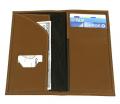 "LR998 9"" x 4 1/2"" Elite Leather Travel Wallet"