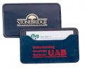 "LB137 2 1/2"" x 4 1/4"" Bonded Seminole Business Card Case"