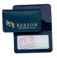 "LB134 2 1/2"" x 4 1/4"" Bonded Sequoia Business Card Case"