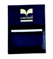 """LR533 4 1/4"""" x 2 3/4"""" Top Grain Gussetted Business Card Case"""