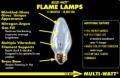 Flame Multi-Watt® Lamps