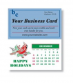 Magnetic Business Card Calendar