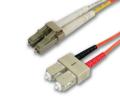 LC/SC 62.5 OM1 Multimode Fiber Patch Cables